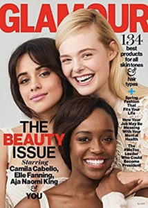 O-Shot featured in Glamour magazine