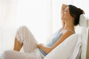 relaxing-woman