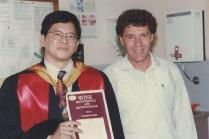 On my PhD graduation