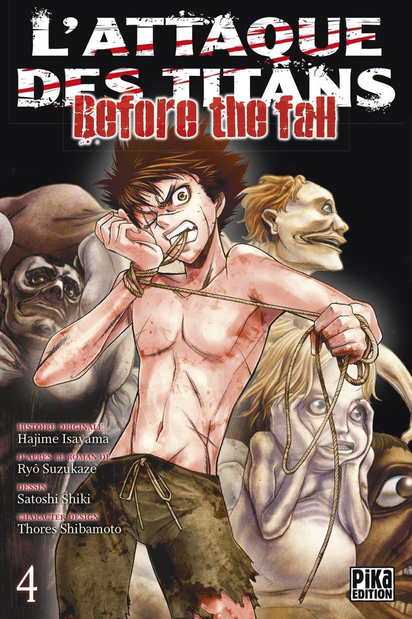 l'attaque des titans,seinen,manga,pika edition,spin-off,Before The Fall,L'attaque des titans Before The Fall,tome 4