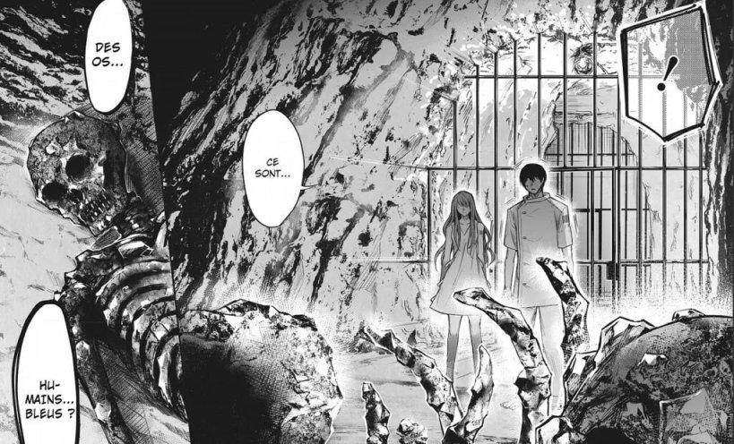 manga,shonen,one-shot,blue,Le laboratoire de Saphir,Blue Phobia,Glénat,Eri Tsuruyoshi,science-fiction