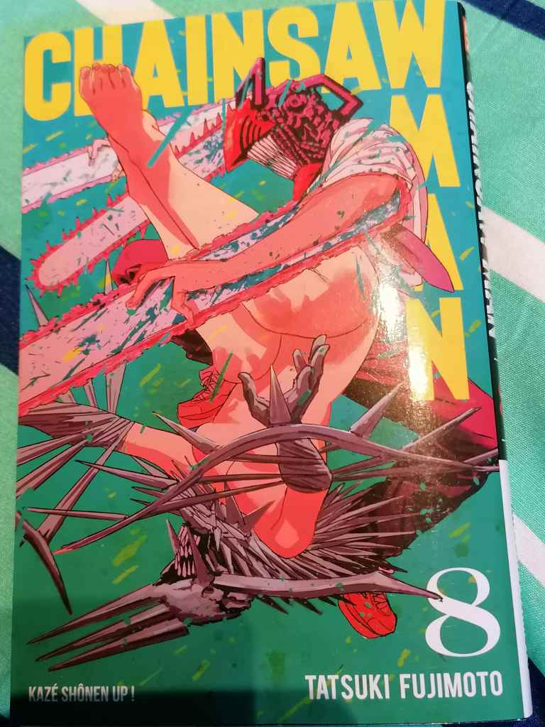 chainsaw man tome 8