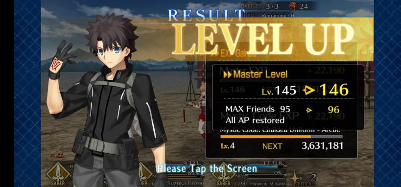 level 146 gfo