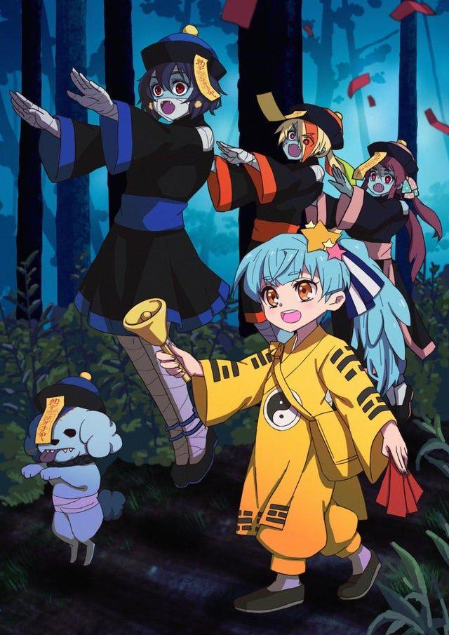 zombie land saga en jiangshi