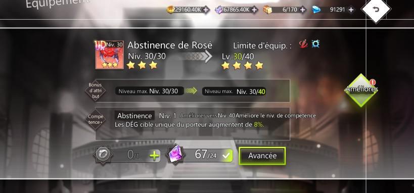 ur abstinence de rosé, parfair pour ginny ou maki