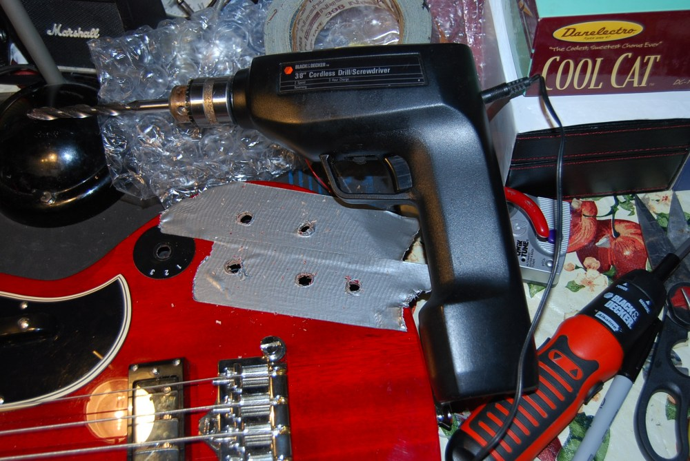 medium resolution of epiphone eb3 rothstein varitone install