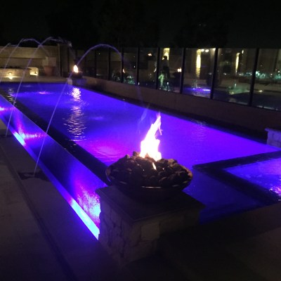 When pool concept design … becomes a reality.