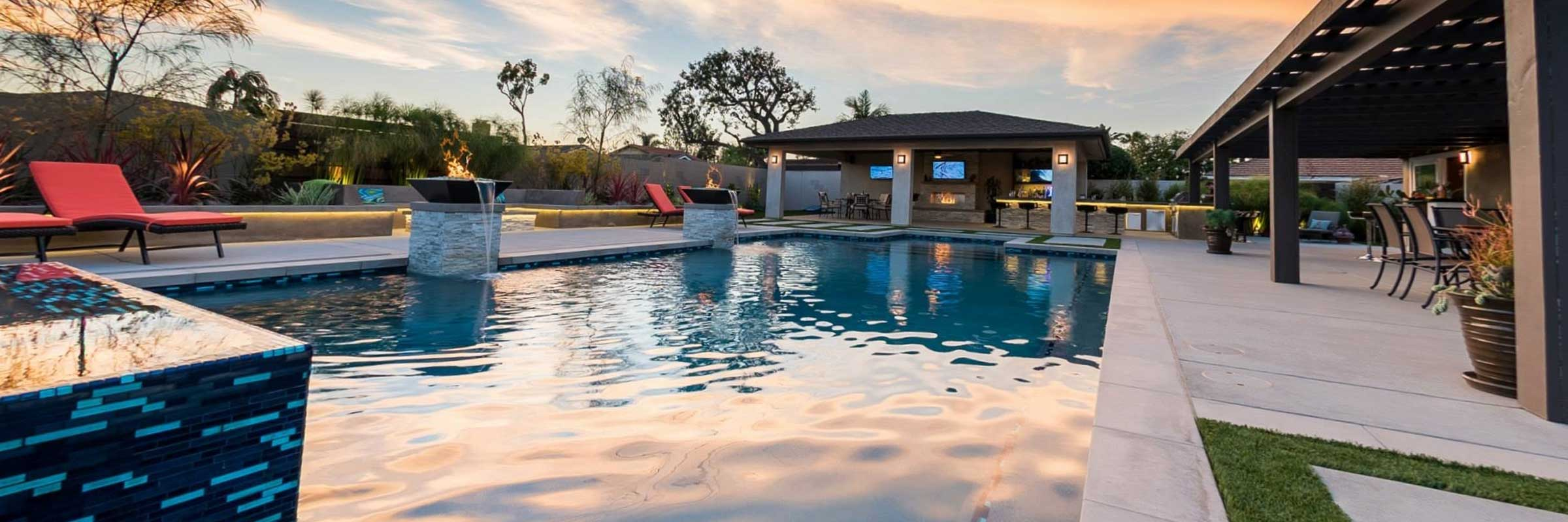 Swimming Pool & Landscape Design and Construction Orange ...