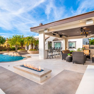 Give you old pool a new life! Check out this gorgeous remodel we just completed!