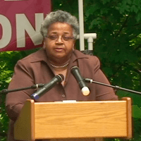 Dr. Ada Fisher - Restore the Consitution Rally