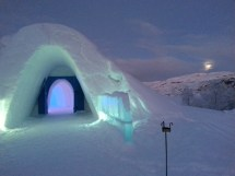 Snow Hotel Norway Northern Lights