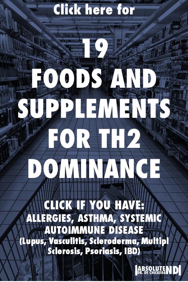 Th1 Th2 immune disease naturopath johann de chickera immune system autoimmune disease allergies asthma