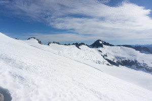 Klawatti across Inspiration Glacier