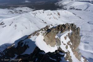 Exposed bit of ridge