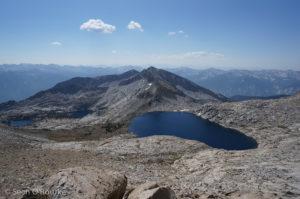 Tunemah Lake and Peak