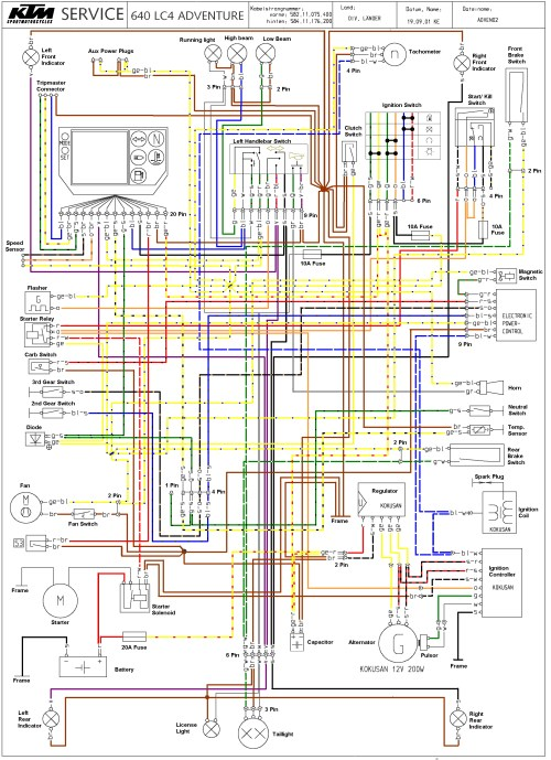 small resolution of ktm 640 wiring diagram wiring diagram source ktm 525 mxc wiring diagram ktm 640 lc4