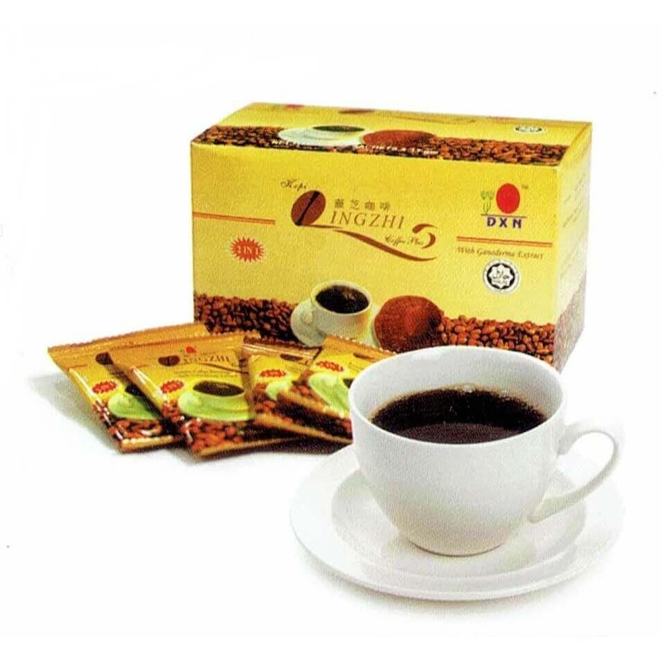 قهوة لينجزي السوداء Dxn القهوة الاقوي للتنحيف و نشاط و حيوية الجسم د دكسن