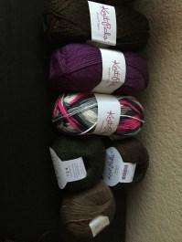 New Yarn!!! I heart sales.