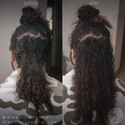 removing dreadlocks - comb