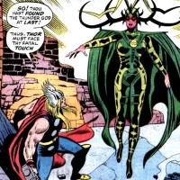 Hela vs Thor