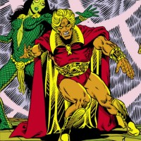 Gamora vs Adam Warlock