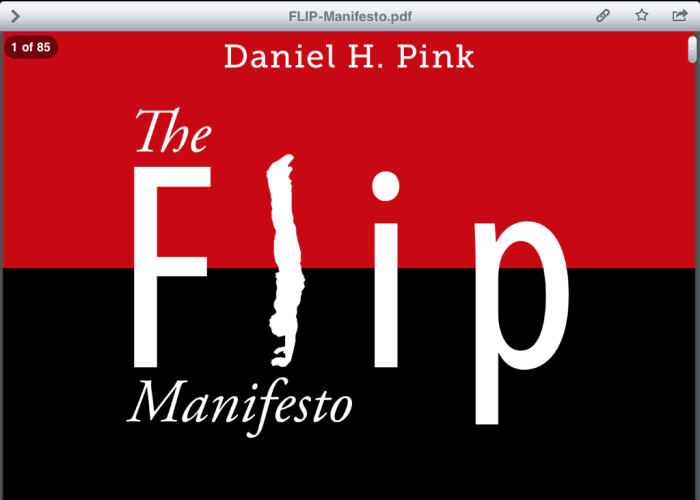Book Review: The Flip Manifesto