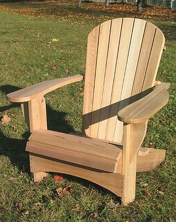 adirondack chair bauanleitung - boisholz, Garten ideen
