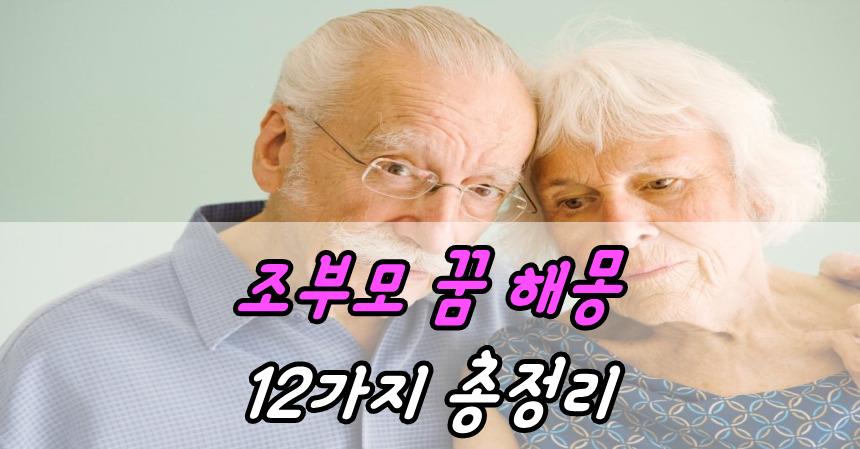 조부모 꿈 해몽 12가지 총정리