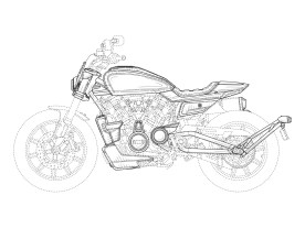 Auf diesen Zeichnungen natürlich nicht zu erkennen, aber wir tippen mal auf den 975er Motor als Antrieb