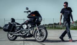 Vielleicht die sperrigste Harley-Baureihe aller Zeiten, aber gerade deshalb wohl aktuell ziemlich angesagt. Die FXR-Modelle mischen seit einigen Jahren die Customszene gehörig auf – dabei findet sie längst nicht jeder gut