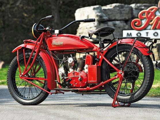 Hendee Manufacturing präsentierte die Scout erstmals 1919
