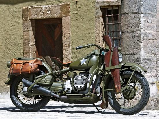 Dieses Modell ist eine echte Rarität und wurde für eine Schlacht gebaut, die nie stattfand: ein Harley-Boxer für die US-Army