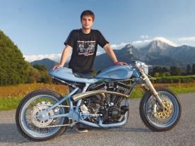 Bis auf Antrieb, Gabel und Räder ist an Zbyneks Bike fast alles Eigenbau