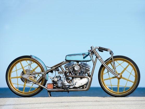 """Den Anlass zum Bauen dieses Bikes lieferte ein Youtube-Film über das Motorradmuseum """"Wheels Trough Time"""""""