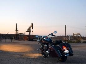 Die Gegend rund um Taft ist geprägt von der Ölförderung. Tag und Nacht singen die Pumpen hier ihr mechanisches Lied