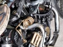 """Der komplette Motor samt seiner Peripherie wurde mit erheblichem Aufwand auf """"Used Look"""" getrimmt"""