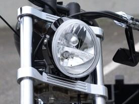 Im V-Rod-Lampentopf ist eine Menge Elektrik versteckt