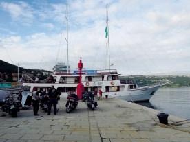 """Der Beginn: Nach individueller Anreise Ankunft und Einchecken auf unser Hotelschiff """"Vapor"""" in Opatija"""
