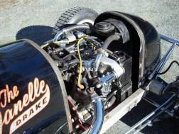 Der restaurierte Midget-Racer wird von einem aufgefrischten Drake-Knuckle angetrieben