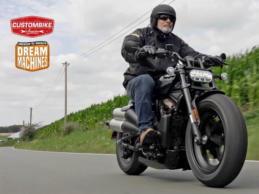 Harley-Davidson Sportster S – Schon gefahren!