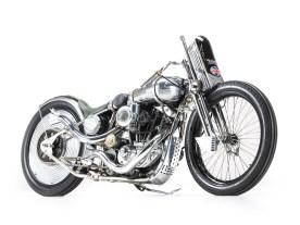 Ob Retro-Renner oder Designobjekt … das Bike ist eine Augenweide