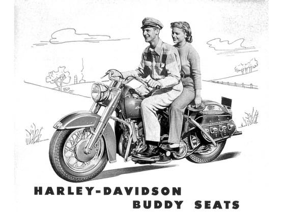 Kann man sich schon vorstellen, dass sich die Geschlechter näherkamen. Die Frauen jedenfalls mochten den Buddy Seat