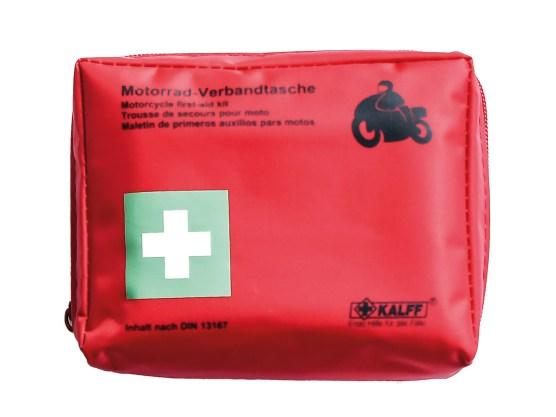 Maße L / B / H (cm): 14 / 7 / 11 Gewicht: 265 g Verpackung: Nylontasche mit Reißverschluss Inhalt: nach DIN 13167, Kalff-Produkte in Kunststoffbeutel Preis: 9,65 Euro Bezugsquelle: www.buese.biz