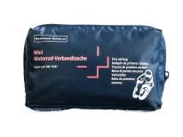 Maße L / B / H (cm): 17 / 4 / 10 Gewicht: 207 g Verpackung: Nylontasche mit Reißverschluss Inhalt: nach DIN 13167, Holthaus Medical-Produkte in Kunststoffbeutel Preis: 4,90 Euro, auch im Set mit Warnweste für 7,90 Euro erhältlich Bezugsquelle: Fachhandel