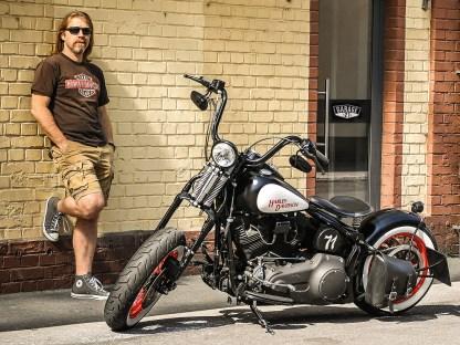 Steuermann – Unser Steuerberater ist 'ne coole Socke. Sein Bike ist es auch. Wir haben uns das Ding genauer angeschaut