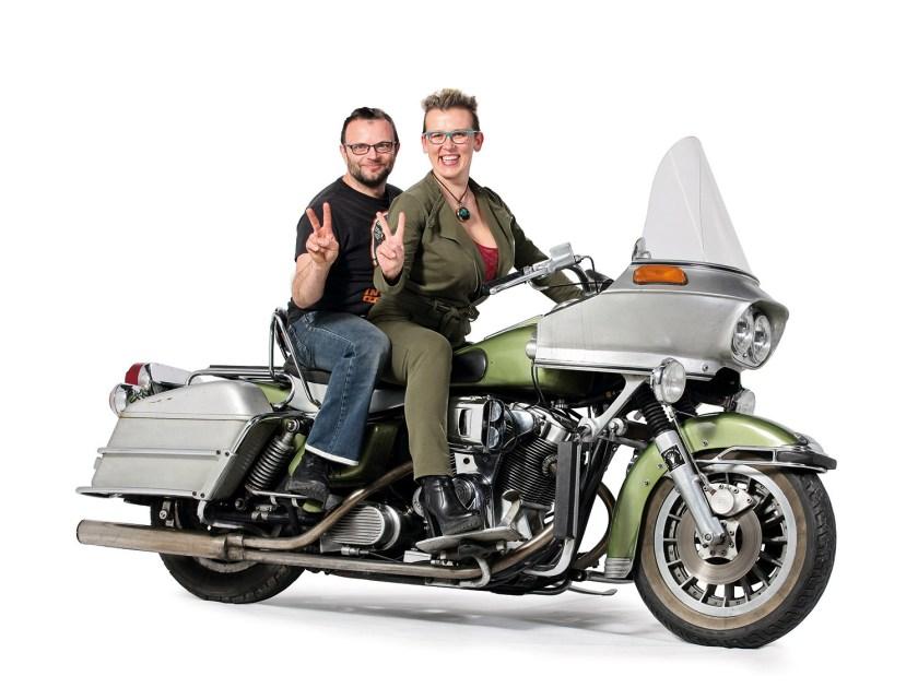 Was für ein Eigenbau – Vier Zylinder für ein Harleyluja!