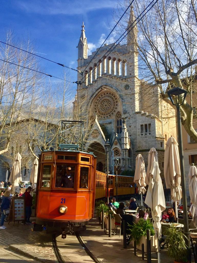 historische Straßenbahn Mallorca Sóller