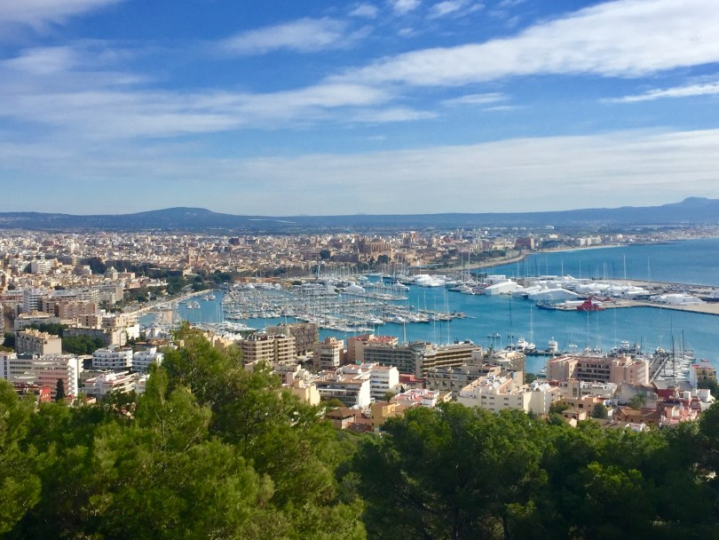 Mallorca Aussicht Palma de Mallorca, Mallorca Hafen