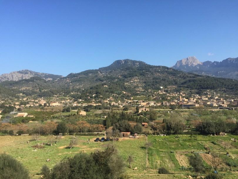 Landschaft Mallorca Tramuntana Gebirge