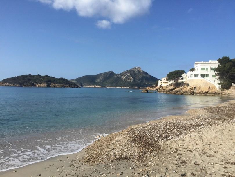 Mallorca Strand Sant Elm.